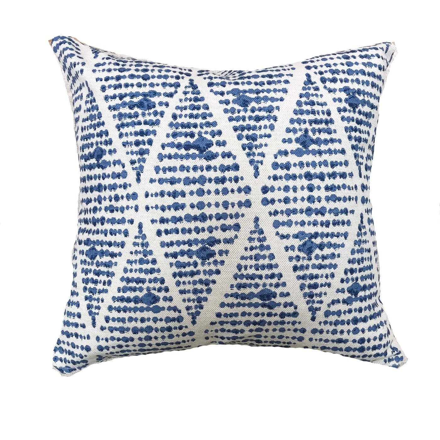 Global touch with blue boho pillows - BRUNO - Studio Pillows