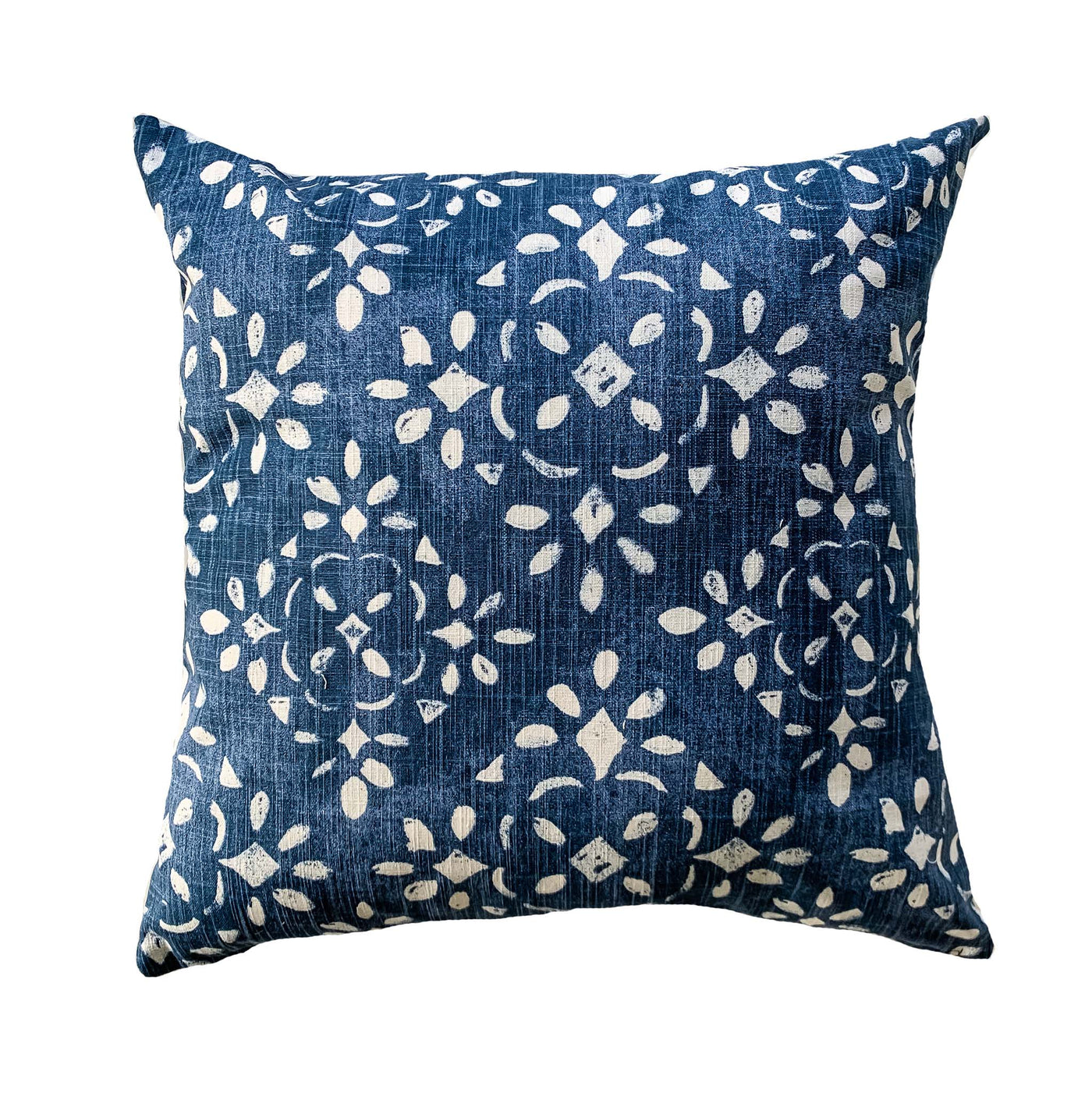 Stylish blue floral pillows - OLVA - Studio Pillows