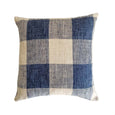 French Laundry Pillows | Natural and Blue French Country Style - Studio Pillows