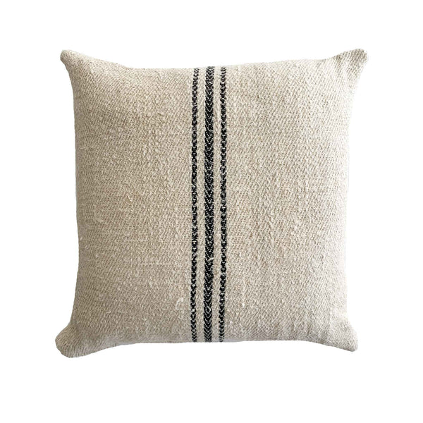 Antique Grain Sack Pillows With Timeless Character - Studio Pillows
