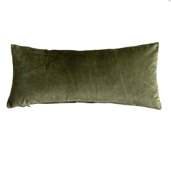 Olive Green Velvet Pillow Collection - Studio Pillows