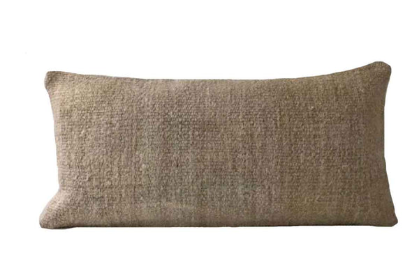 Neutral Turkish Hemp Pillow - Studio Pillows