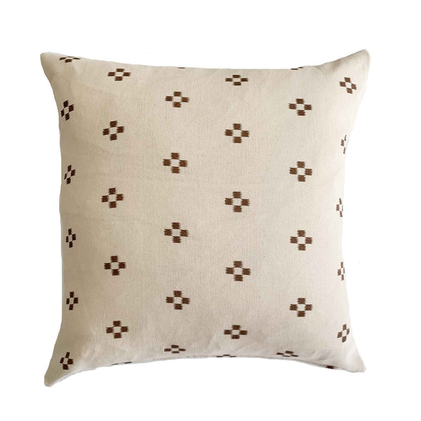 Hmong Batik Pillow Cover- Terracotta - Studio Pillows