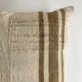1 AVAILABLE! Turkish Kilim Stripe Pillow - Studio Pillows