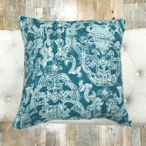 Quality crafted dark teal pillow covers - ALDO - Studio Pillows