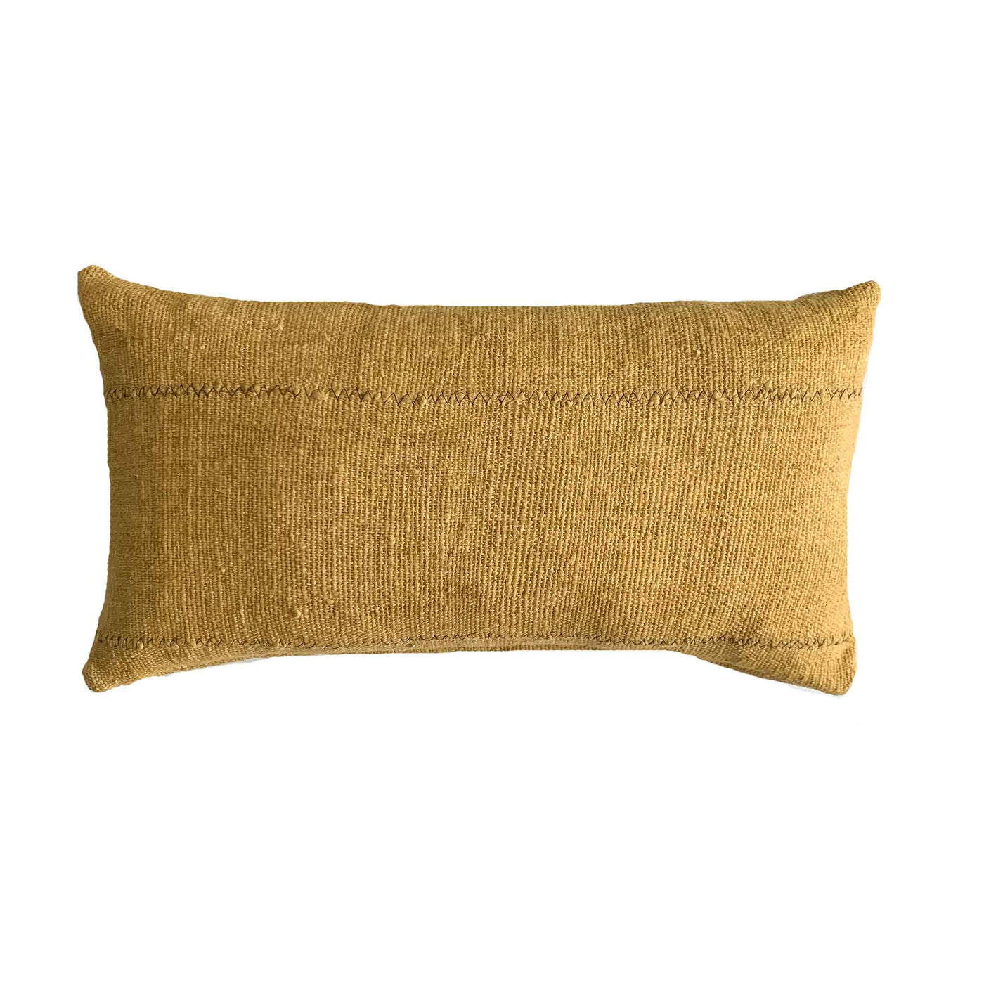 Mustard Mud Cloth Lumbar Pillows | LIMITED SUPPLY! - Studio Pillows