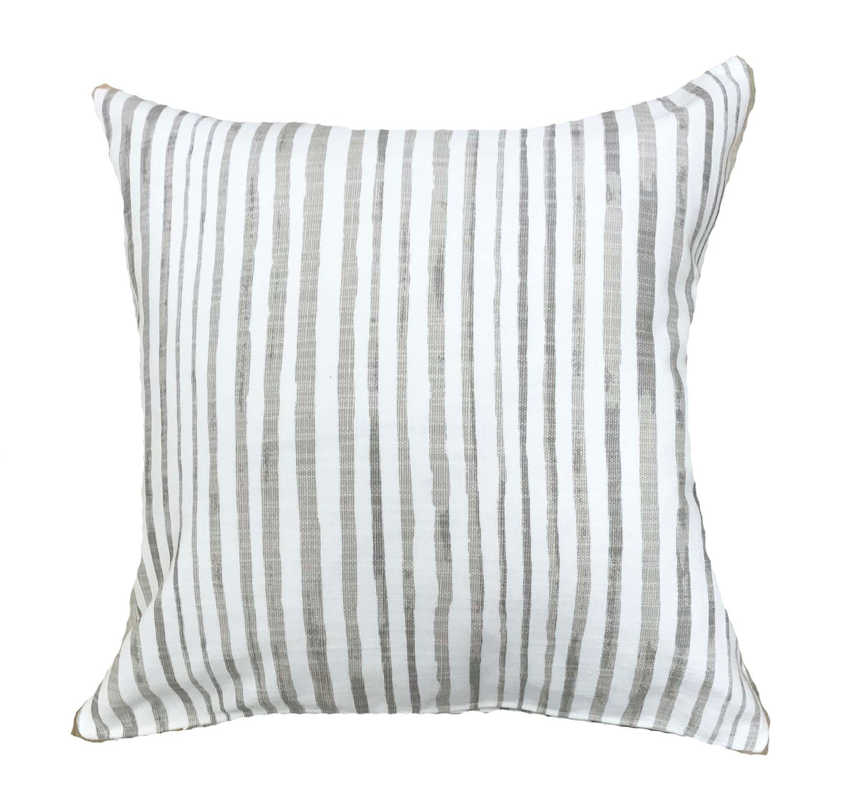 Stylish neutral pillows with luxe linen OMAR