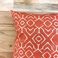 Splash of style with orange pillows - OTIS - Studio Pillows