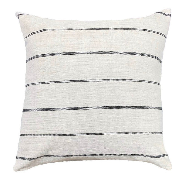 Stunning neutral striped pillows - Pearce Pillow Collection - Studio Pillows