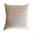 Schumacher Rusticto Textured Natural Pillow - Studio Pillows