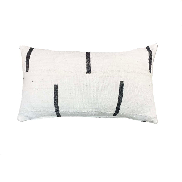 Striped authentic mud cloth pillows - Studio Pillows