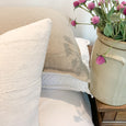 Studio Pillows | White Mud Cloth Pillow Combination #22 | Sofa Combo - Studio Pillows