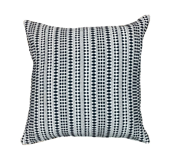Simplistic white textured pillow - ANNA - Studio Pillows