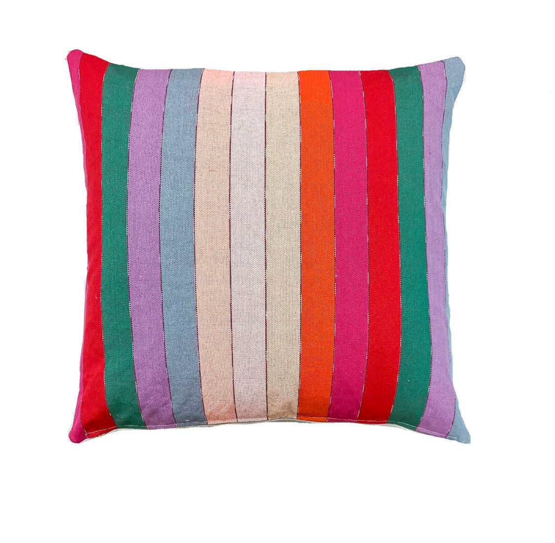 Multi-color Lucy pillow cover - Studio Pillows
