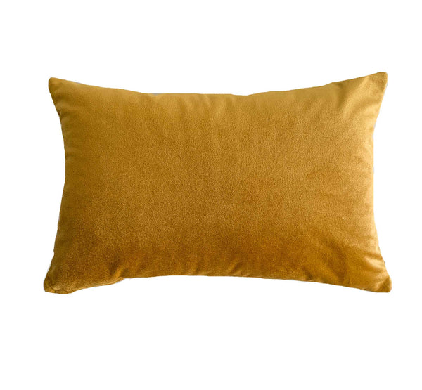Mustard Yellow Velvet Pillow Collection - Studio Pillows