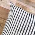 Classic black stripe outdoor pillows - HAMILTON - Studio Pillows