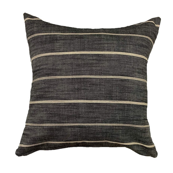 Stunning black striped pillows - Pearce Pillow Collection - Studio Pillows