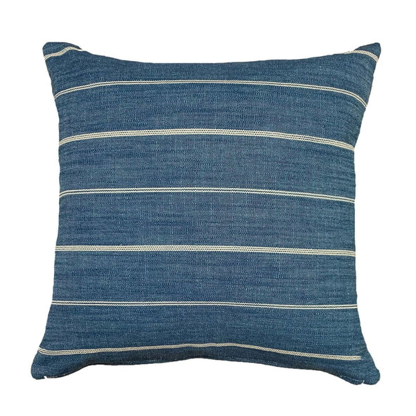 Stunning blue striped pillows - Pearce Pillow Collection - Studio Pillows