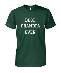 Best Grandpa Ever Shirt Darker Colors
