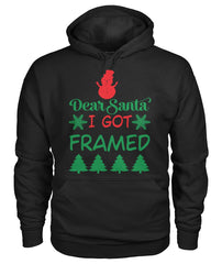 Christmas Hoodie - I Got Framed Ugly Christmas Sweater