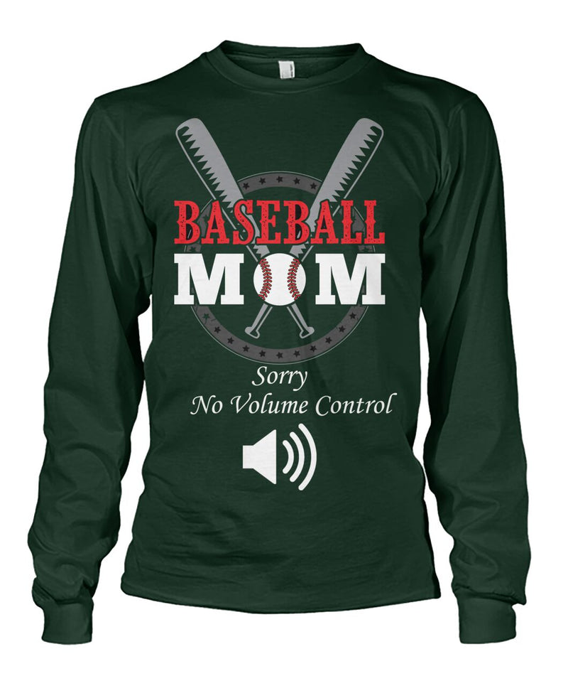 Baseball Mom - No Volume Control