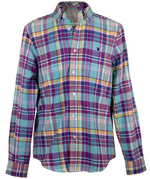 Simply Southern Flannel Men's Shirt