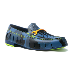 Floafers Chairman Bit- Blue Camo/Lime Green