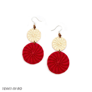 Lidia Earrings by Tagua