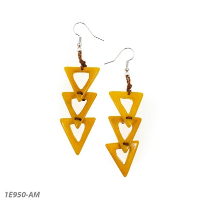 Leidy Earrings by Tagua
