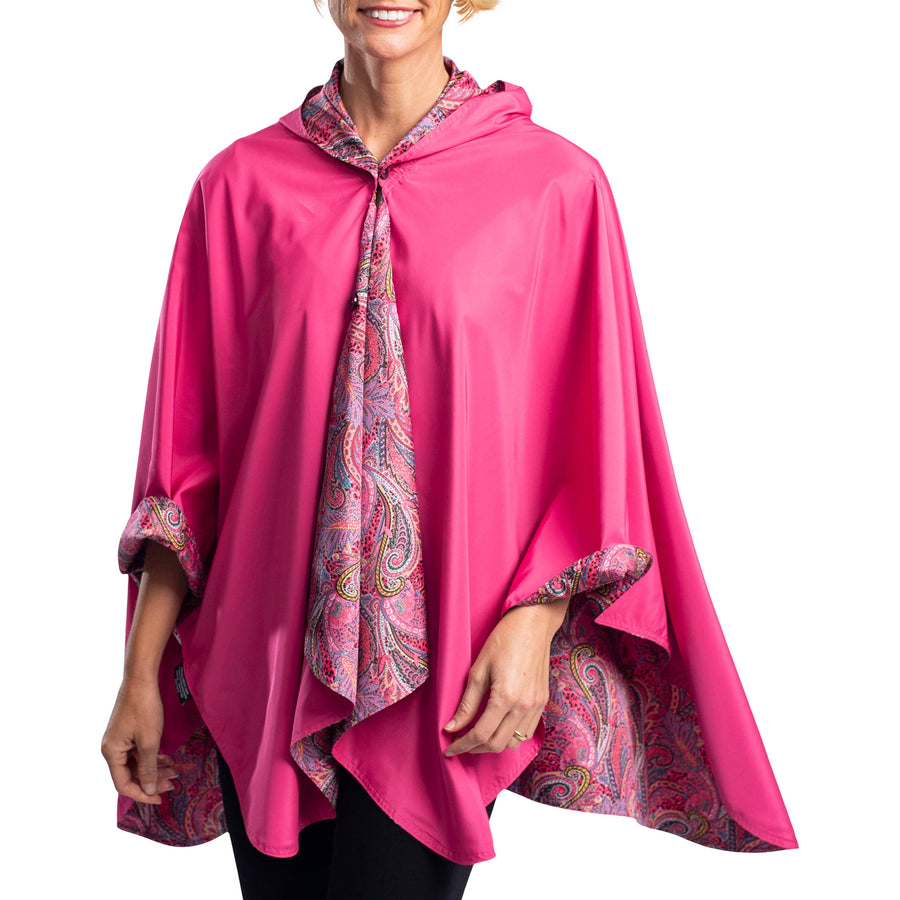 RainCaper - RainCaper Rose/Paisley Travel Cape