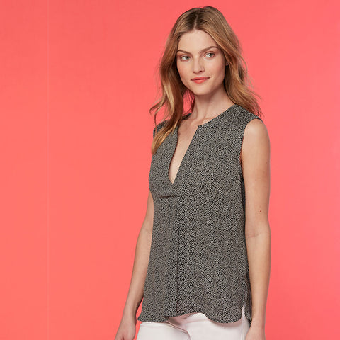 Jordan Sleeveless blouse