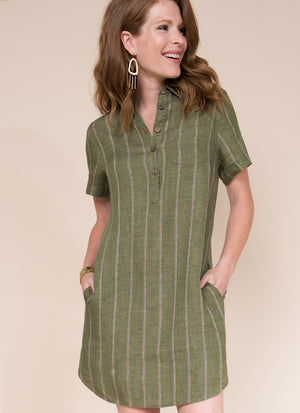 Shirt Dress w/Tail Hem - Uncle Frank
