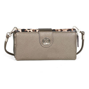 Coco + Carmen - Animal Print Double Wallet