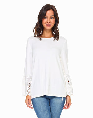 Joh Apparel - White Felicia Top