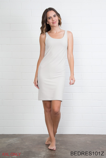 Solid Body Esteem Dress - Plus