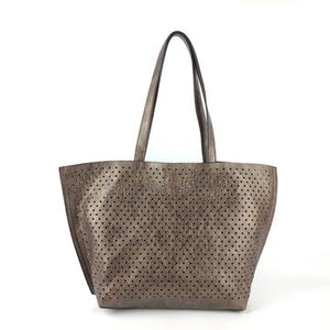 Bronze Reversible Tote with Inner Bag - TRESKA