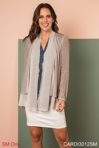 Go with the Flow Layered Cardigan
