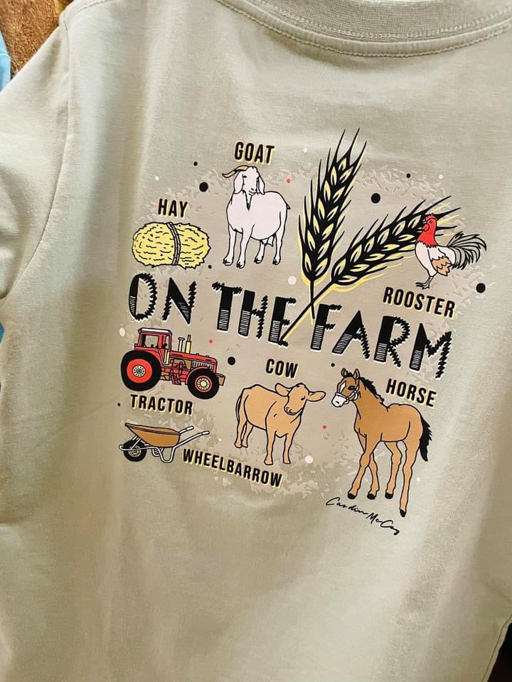 Cardin McCoy On The Farm Shirt