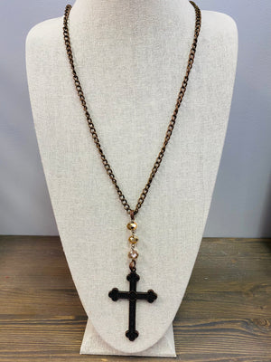 LF Cross Necklace