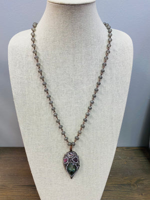 LF Four Stone Shimmer Necklace