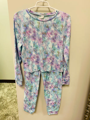 Tie Dye Super Soft Fleece Lounge Set