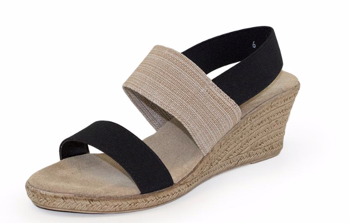 Espardrille-Wedge-w/sling-back Cooper by Charleston Shoe Co