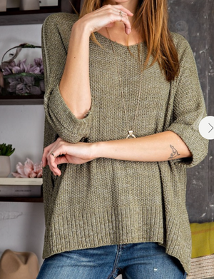 Easel Knit Sweater