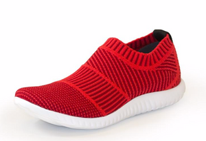 Sporty-Sneaker--in-RED.-Charleston-Shoe-Co.