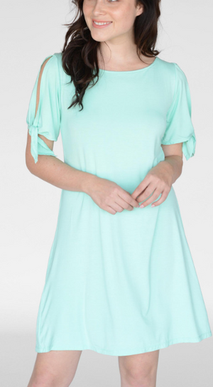 Mint Knit Dress