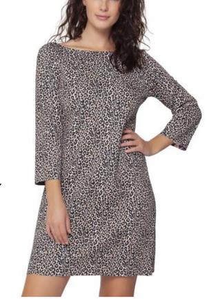 Cairo Reversible 3/4 Sleeve Dress - (Isle by Melis Kozan)