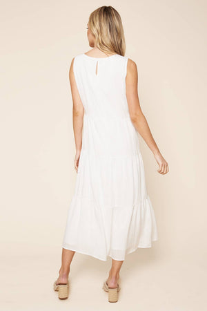 Paloma Tiered Midi Dress