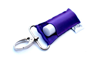 LippyClip® Lip Balm Holder - BASIC: Purple LippyClip Lip Balm Holder