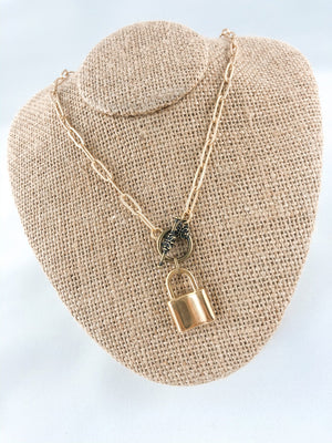 Triple Play Necklace