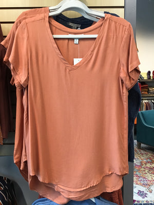 Tencel VNeck Top